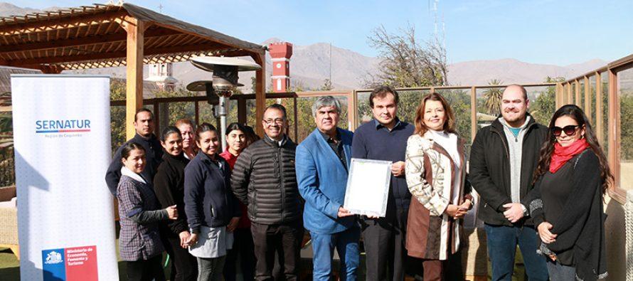 Hotel Terral: Renuevan sello de sustentabilidad en uno de los principales hoteles de Vicuña