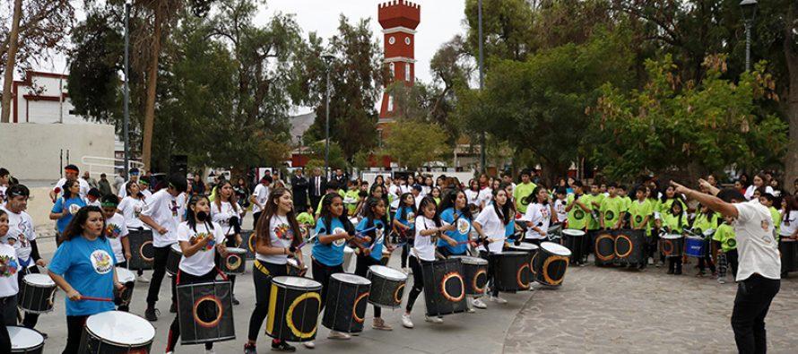Tambores de Elqui celebró su 3er aniversario en la comuna de Vicuña