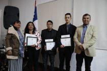 Un total 6 vicuñenses se certificaron en un curso de Operador de Maquinaria Pesada