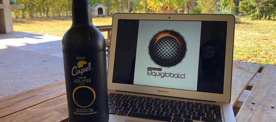"""Pisco Capel lanza su edición limitada """"Eclipse""""  e invita a concurso para el fenómeno astronómico"""
