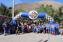 Un centenar de entusiastas participantes tuvo la cicletada familiar organizada por Vicuña BikeTeam