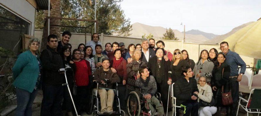 """Agrupación """"Somos Perseverantes""""  de Vicuña celebró su primer año de vida"""