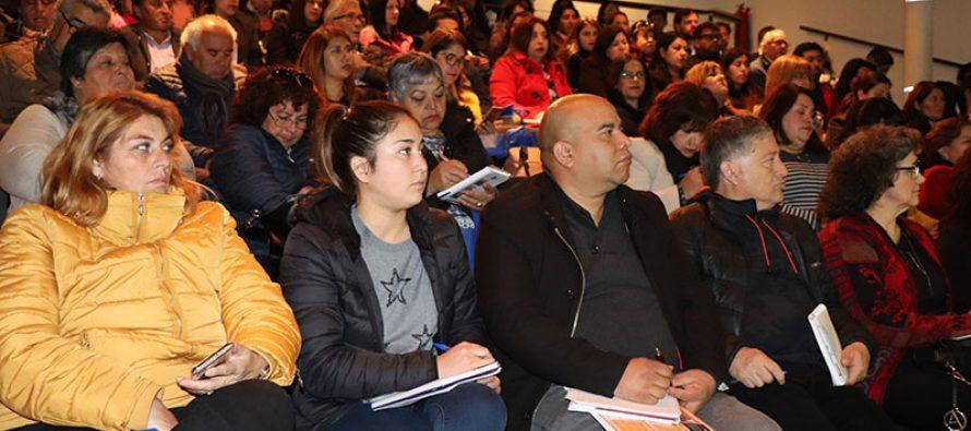 Funcionarios municipales y directivas de Uniones Comunales de la región se capacitan en Ley 21.146