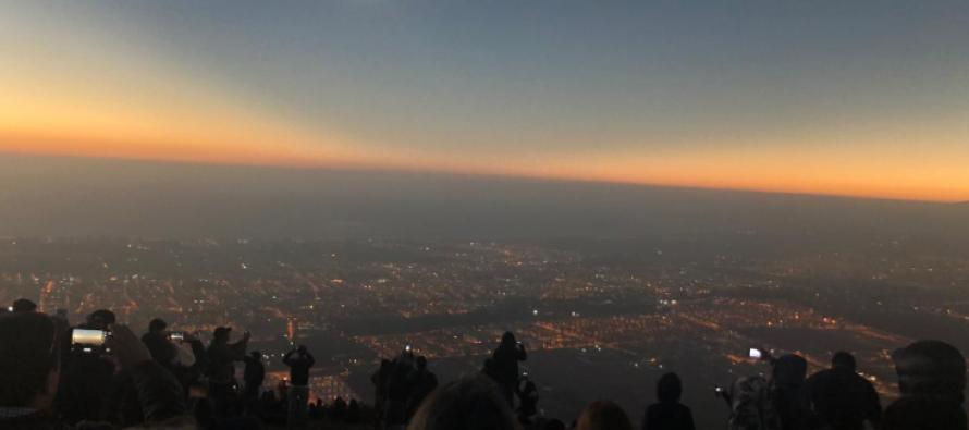 Una experiencia inolvidable: cientos de personas disfrutaron del eclipse de Sol en La Serena
