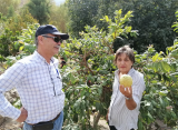 María Haydee Leyton y su remanso agrícola en Paihuano