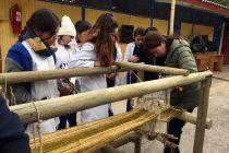 Semana educativa busca sensibilizar a la comunidad con la artesanía textil de Chapilca