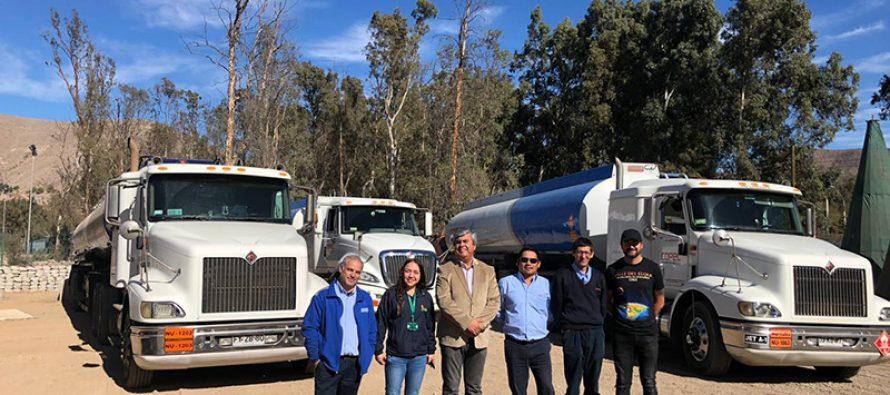 Camiones con combustibles abastecen servicentros del Valle de Elqui