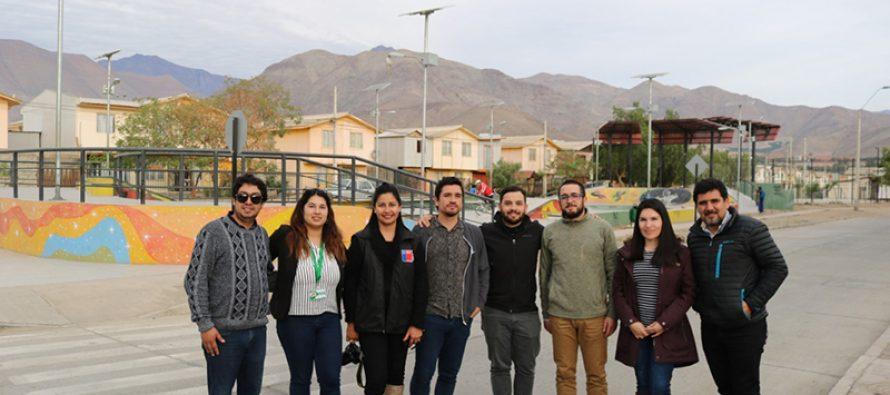 """Programa """"Quiero mi Barrio"""" implementado en Vicuña servirá como modelo a seguir en Los Vilos"""