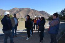 Realizan gestiones para acabar con los malos olores de la planta de aguas servidas de Vicuña