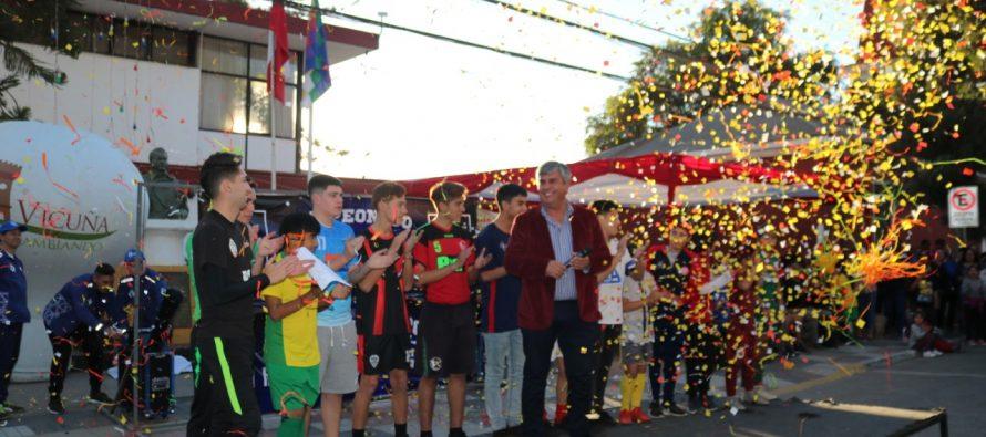 En Vicuña ya se desarrolla la 7ma versión del campeonato Haciendo Amigos