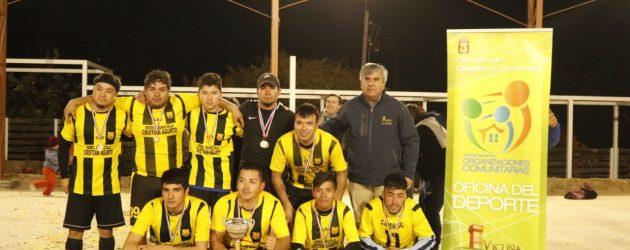 Gualliguaica y Talcuna se quedaron con el 1er lugar del cuadrangular del sector poniente de Vicuña
