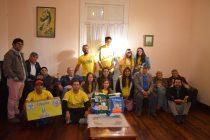 "Residentes de Hogar de ancianos recibieron aportes solidarios de ""Voluntades por Vicuña"""