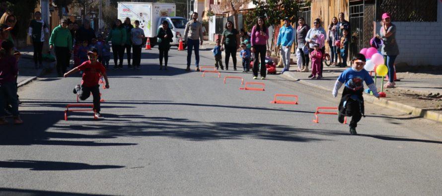 Jardines VTF de Vicuña organizan mini olimpiadas para potenciar la actividad física