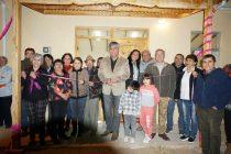 Con presencia de vecinos y autoridades se inauguró la sede de población Joaquín Vicuña