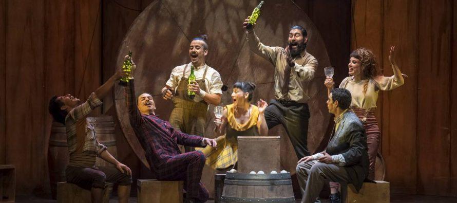 Presentarán obra circense que gira en torno al vino en gimnasio techado de Vicuña