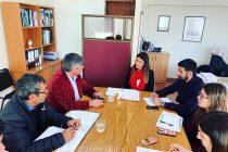 Seremi de Bienes Nacionales y Alcalde de Vicuña buscan soluciones a temáticas comunales