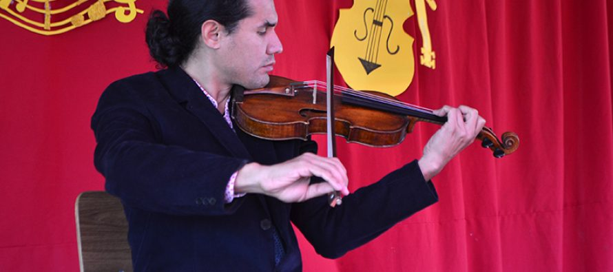 Colegio Saturno recibe regalo musical de categoría internacional