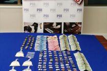 PDI desbarata punto de venta de drogas en Población Valle de Elqui de Vicuña