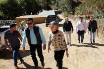 Valoran entrega de camino para uso público de vecino de Pisco Elqui