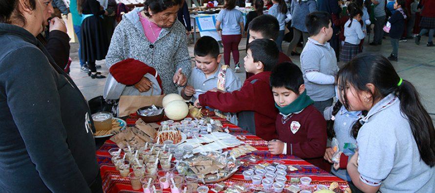Comunidad educativa de Diaguitas realizó la IV versión del intercambio de semillas: Trafkintu