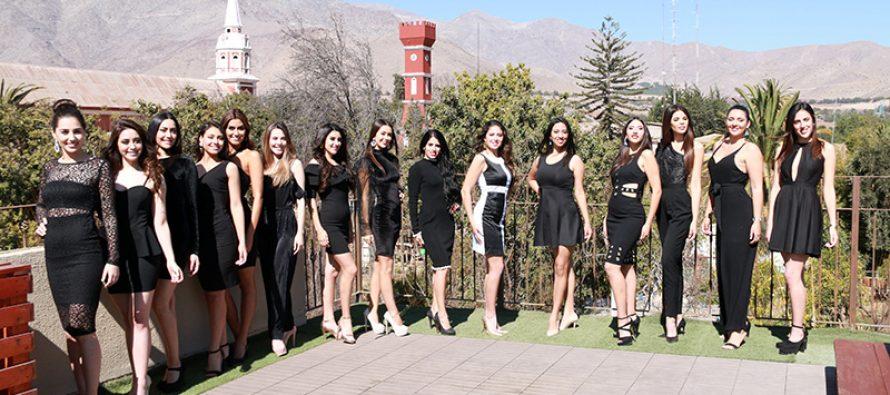 Se comenzó a vivir la elección nacional del Miss Earth en Vicuña