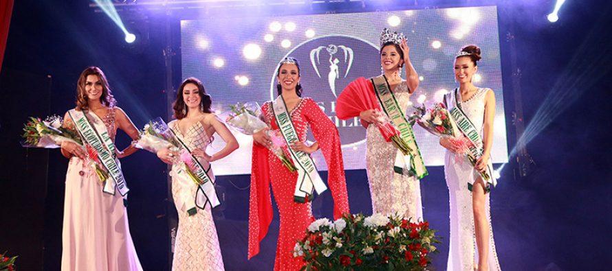 Fernanda Méndez de San Pedro de Atacama fue la ganadora del Miss Earth 2019 realizado en Vicuña