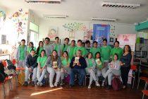"""Estudiantes de Peralillo fueron parte del programa """"Diálogo en Movimiento"""""""