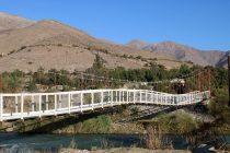 El municipio realiza mejoras en el puente peatonal de La Compañía