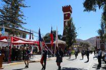 En Vicuña con  desfile y acto conmemorativo recuerdan el natalicio N°241 de Bernardo O'Higgins