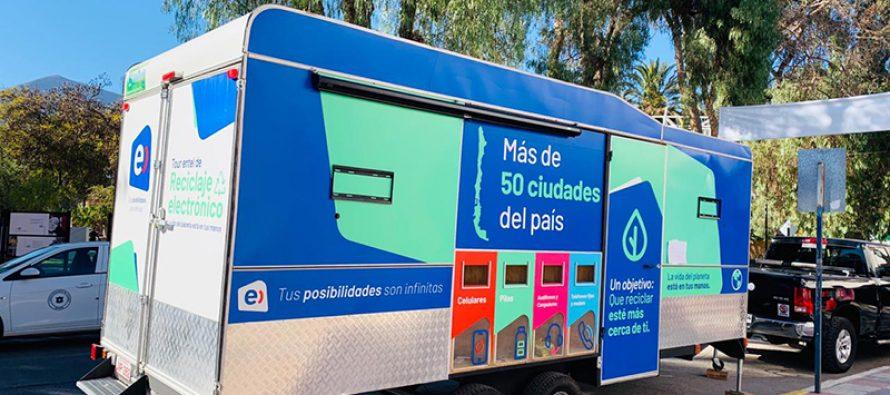 Valle del Elqui se suma a cruzada nacional de reciclaje electrónico