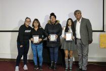 La campeona panamericana de halterofilia brindó una charla a estudiantes elquinos