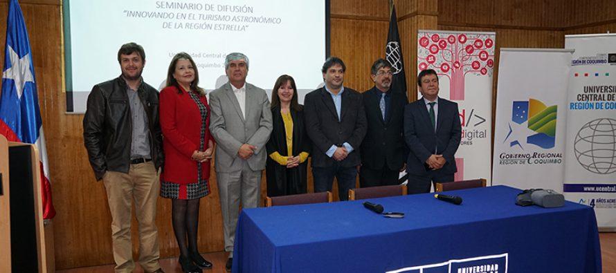 Presentan avances en jornada de difusión del proyecto FIC sobre astroturismo en la región