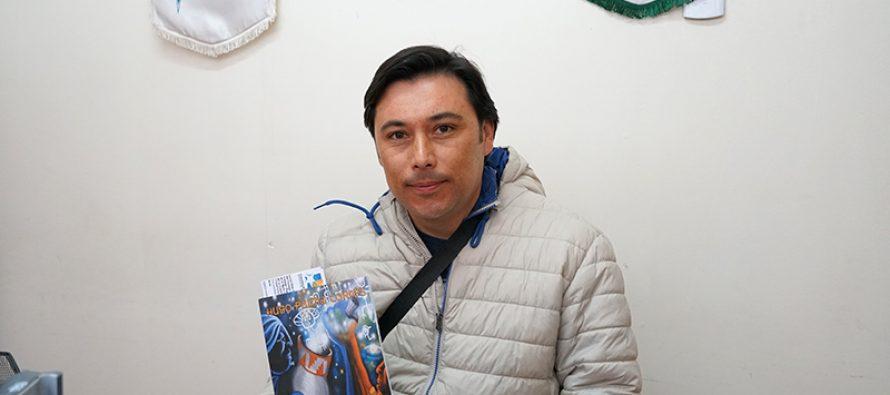 Escritor elquino lanzará libro sobre cuentos de cosmovisión Diaguita