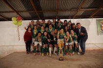 Unión Esperanza de El Tambo suma su tetracampeonato en la Liga Femenina de Vicuña