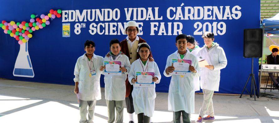 Colegio Edmundo Vidal Cárdenas de Peralillo organizó su octava feria de ciencia
