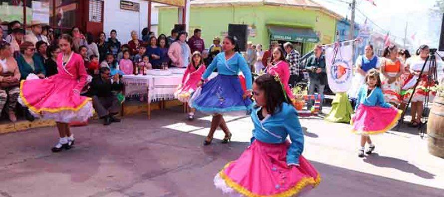 Agrupación Amigos de la Cueca de Vicuña celebró undécimo aniversario con tradicional esquinazo