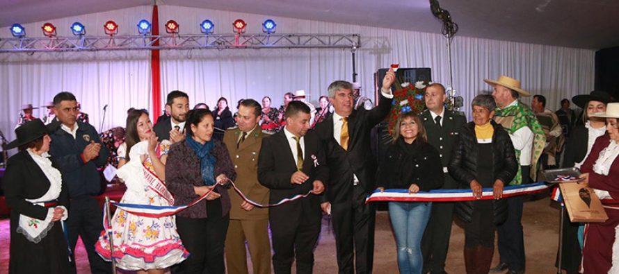Se comienzan a vivir las fiestas patrias en la Pampilla de San Isidro en la comuna de Vicuña