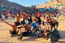 Pampilla de San Isidro se llenó de juegos populares y carreras a la chilena