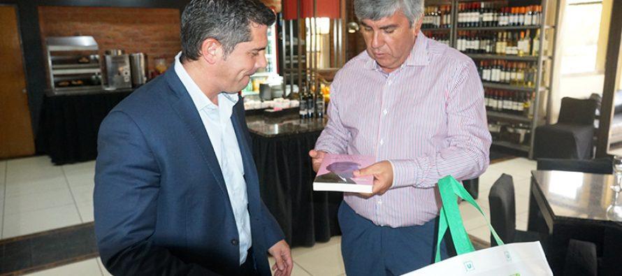 Santa Lucía y Vicuña continúan en el trabajo de integración acordado en el año 2014