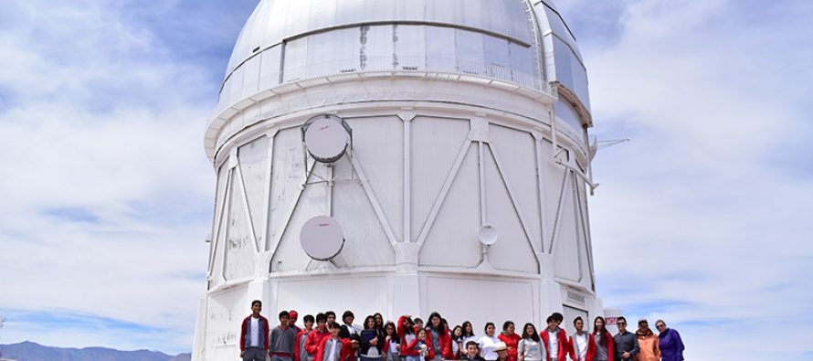 """Concurso """"Dibuja Tu Eclipse"""" premió a su ganadora con visita de estudiantes hacia el Observatorio Cerro Tololo"""