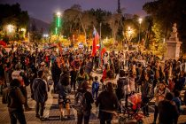 Manifestaciones pacíficas en Vicuña