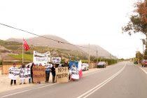 Vecinos de Vicuña protestan por falta de seguridad vial en la ruta internacional 41 CH
