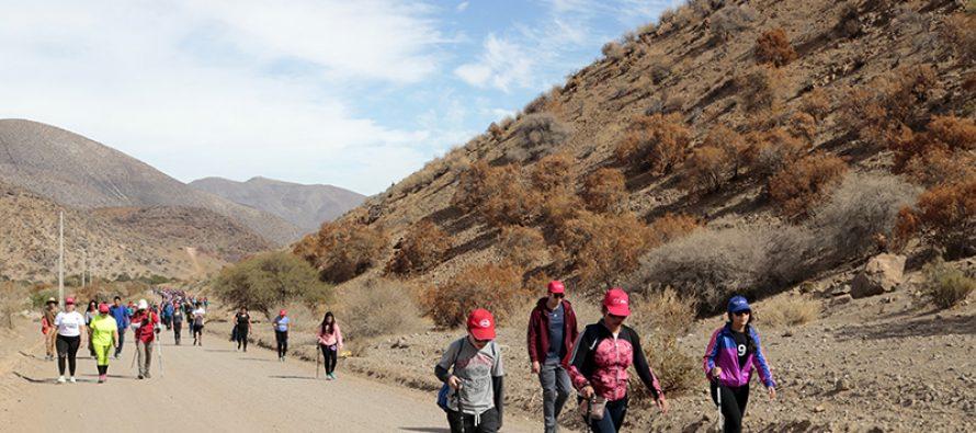 Con gran participación se desarrolló el trekking en ruta Antakari organizado por el Ministerio del Deporte