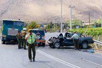 Perdida total de una camioneta y 4 heridos fue el resultado de un nuevo accidente en la ruta 41CH