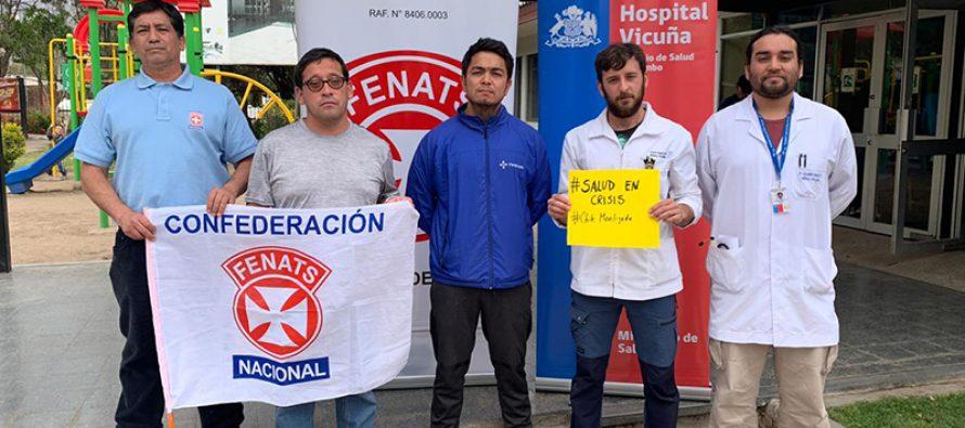 Hospital de Vicuña anuncia paralización para exigir mayor presupuesto
