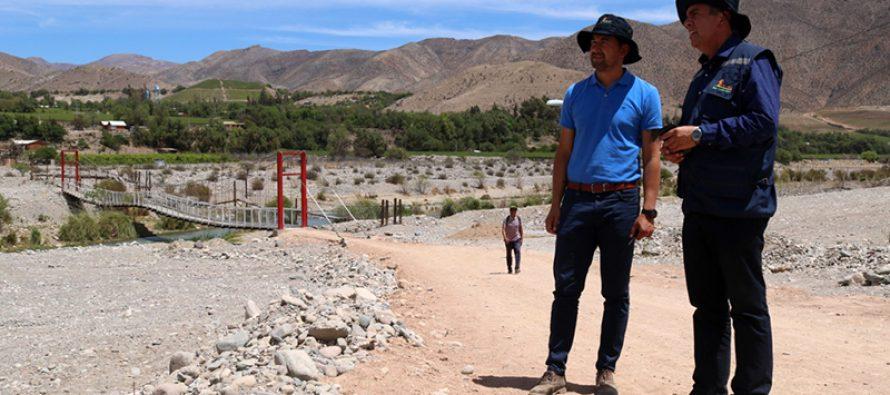 Trabajos en Rio Elqui buscan generar un espacio de esparcimiento para las familias vicuñenses