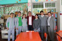 Por medio de programas de intercambio estudiantes de Peralillo fortalecen su aprendizaje en inglés