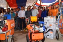 Maquinaria llega a modernizar los procesos productivos de emprendedores rurales de Paihuano