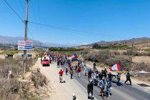 Elquinos marcharon 65 kilómetros entre Vicuña y La Serena por las reivindicaciones sociales