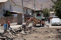 Investigan socavones en población Antakari de Vicuña